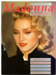 MADONNA : A CELEBRATION - 1986 UK COMAG BOOK